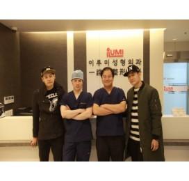歌手 인앤추(IN&CHOO) 访问了一路美整形外科