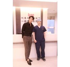 电影演员 이재혁 访问了一路美整形外科